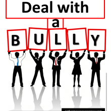 Deal with a bully